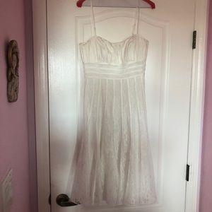 Cache white dress